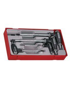 Teng Tools T Handle TX/TPX Hex Key Set