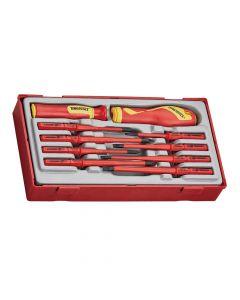 Teng Tools 1000v Screwdriver Set 10 Piece
