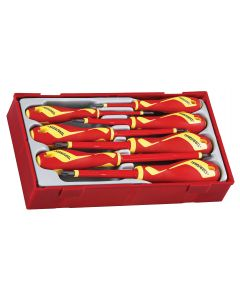 Teng Tools 7 Piece Flat / PH / PZ 1000v Insulated Screwdriver Set