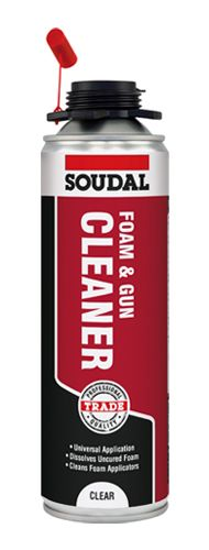 Soudal Foam & Gun Cleaner Clear 500ml