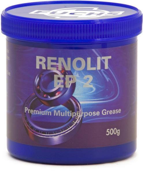 Renolit EP2 Lithium Grease 500g Tubs