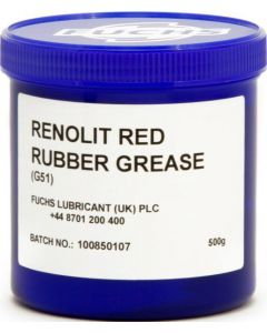 Renolit G51 Red Rubber Grease 500g Tub