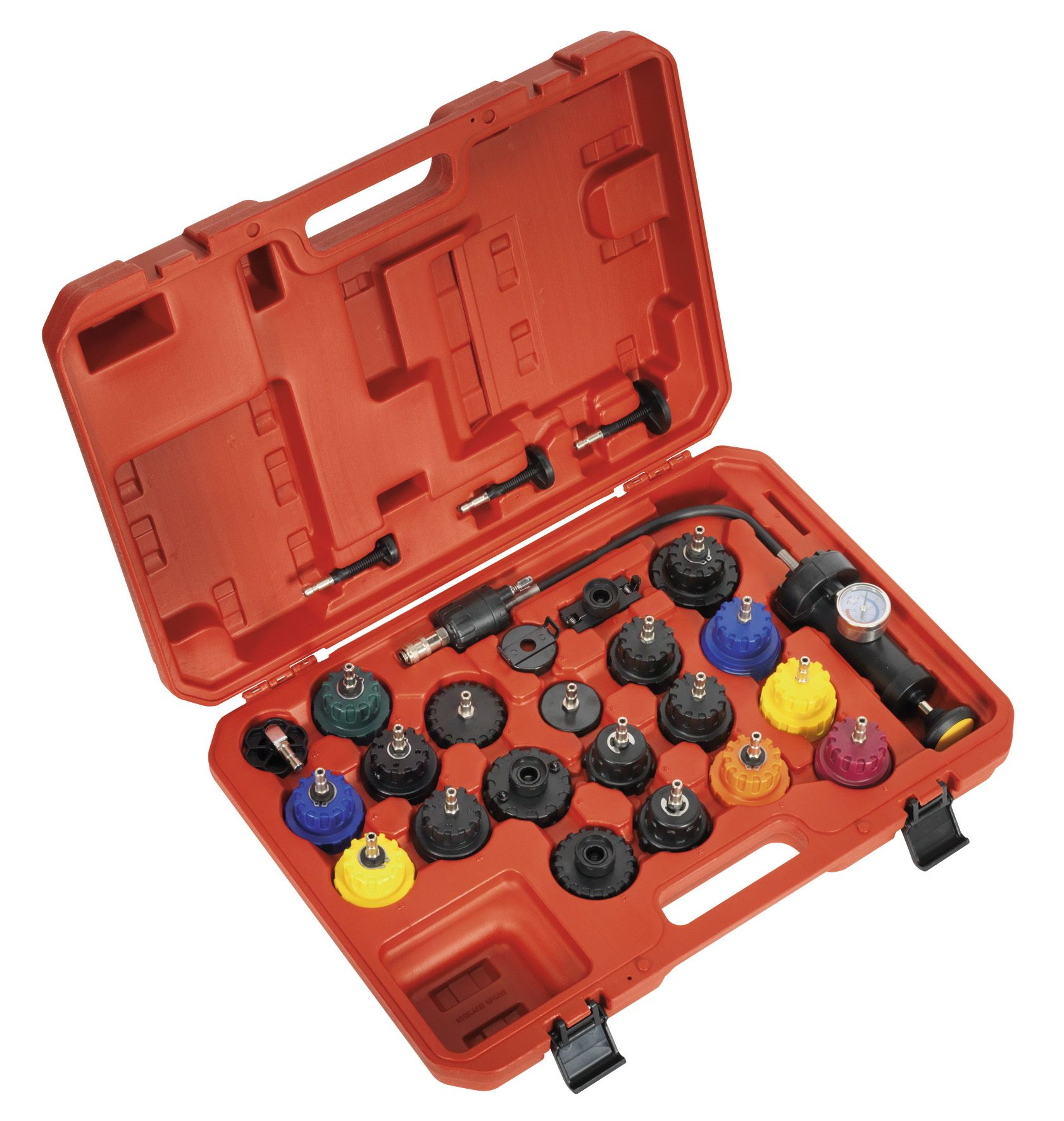 Sealey Cooling System Pressure Test Kit 25pc