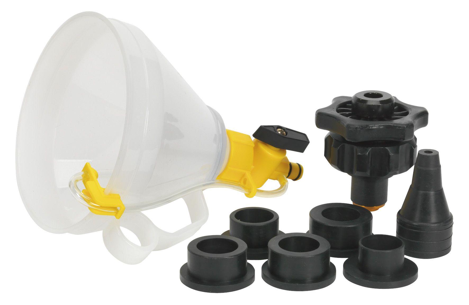 Sealey Automotive Coolant Filler Set