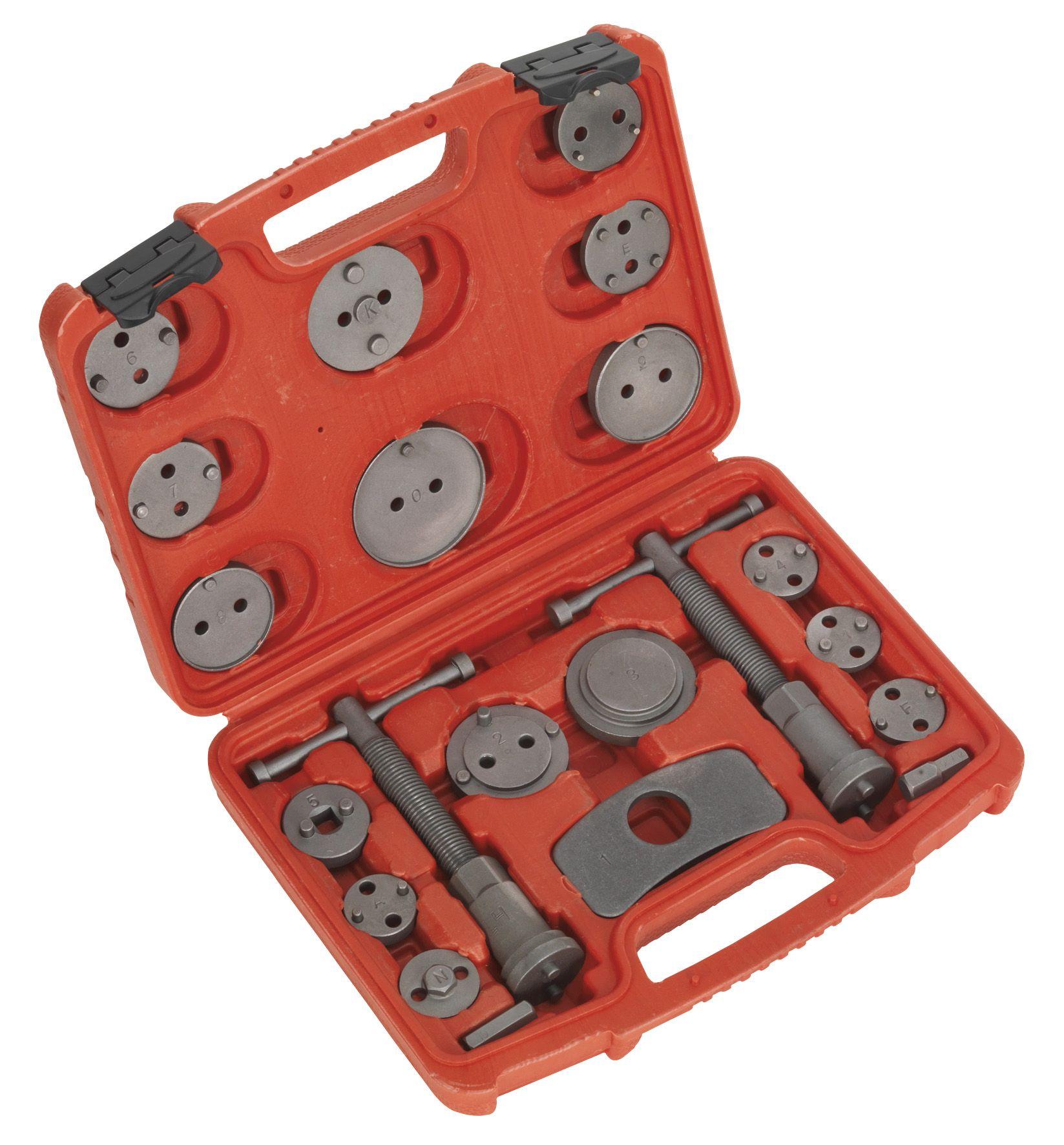 Sealey Brake Piston Wind-Back Tool Kit 21pc