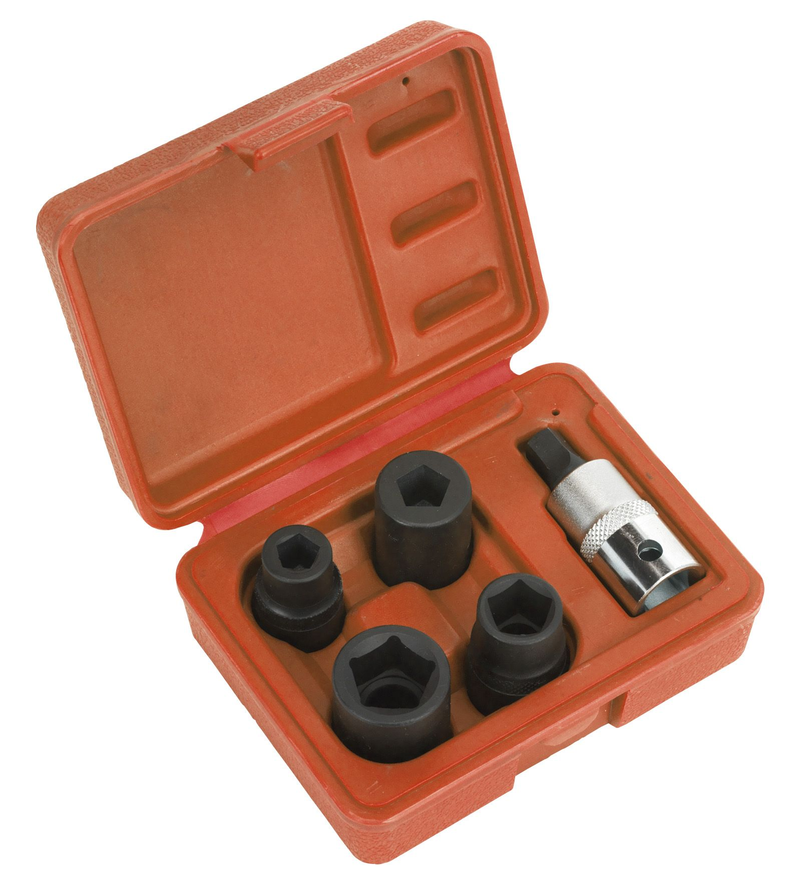 "Sealey Brake Caliper Socket Set 5pc 1/2""Sq Drive"
