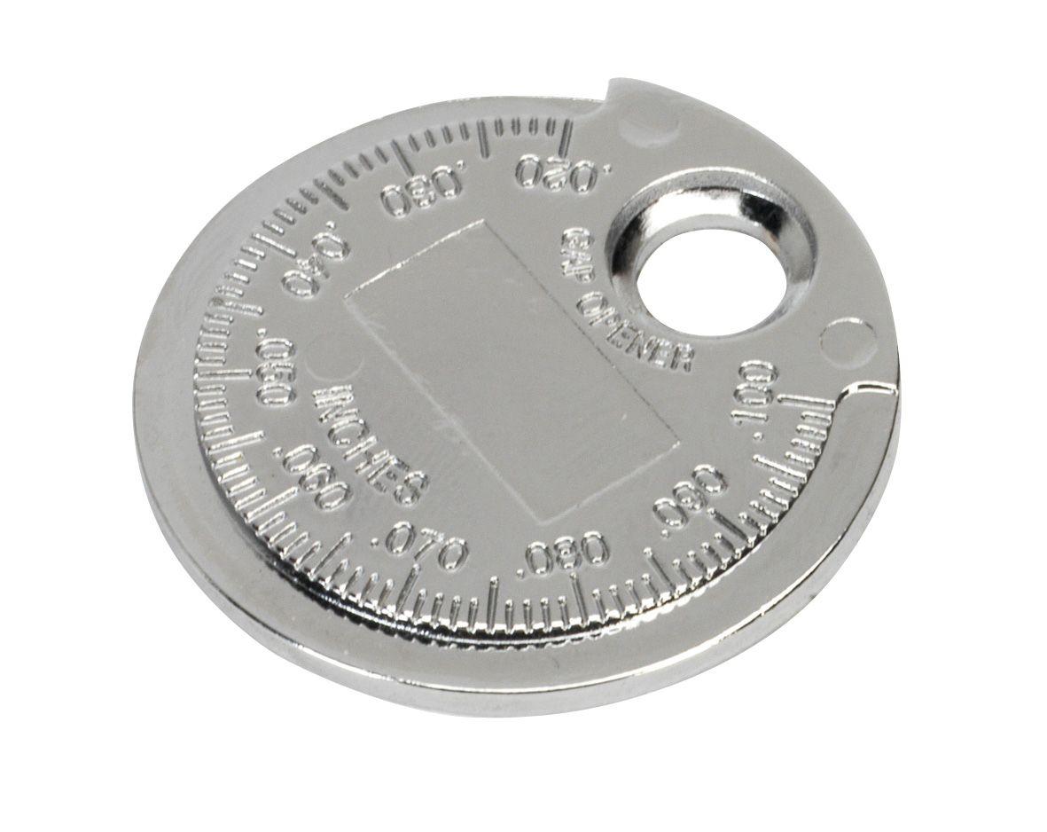 "Sealey Spark Plug Gapper Circular Ramp Type 0.6-2.4mm (0.020"" to 0.100"")"