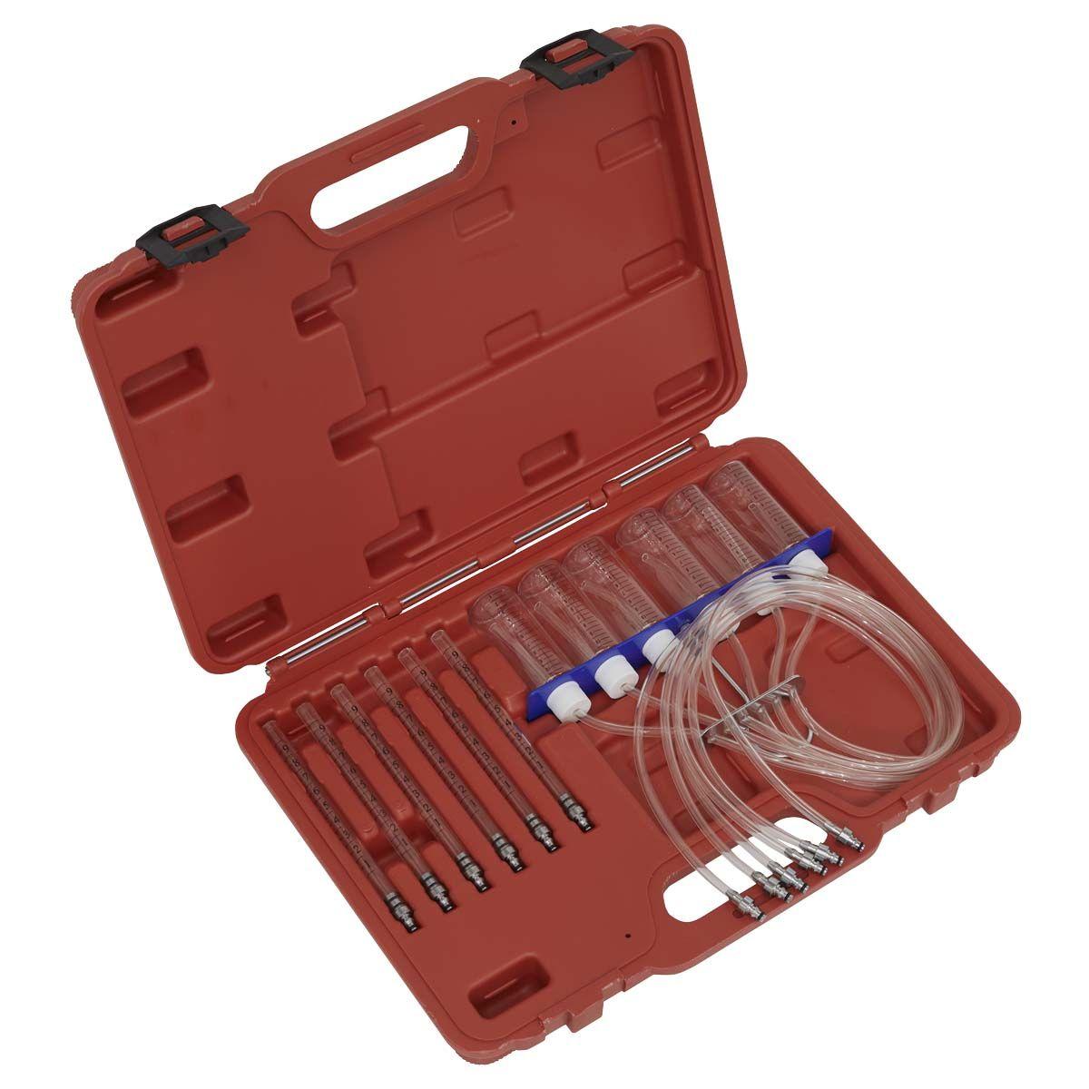 Sealey Diesel Injector Flow Test Kit - Common Rail