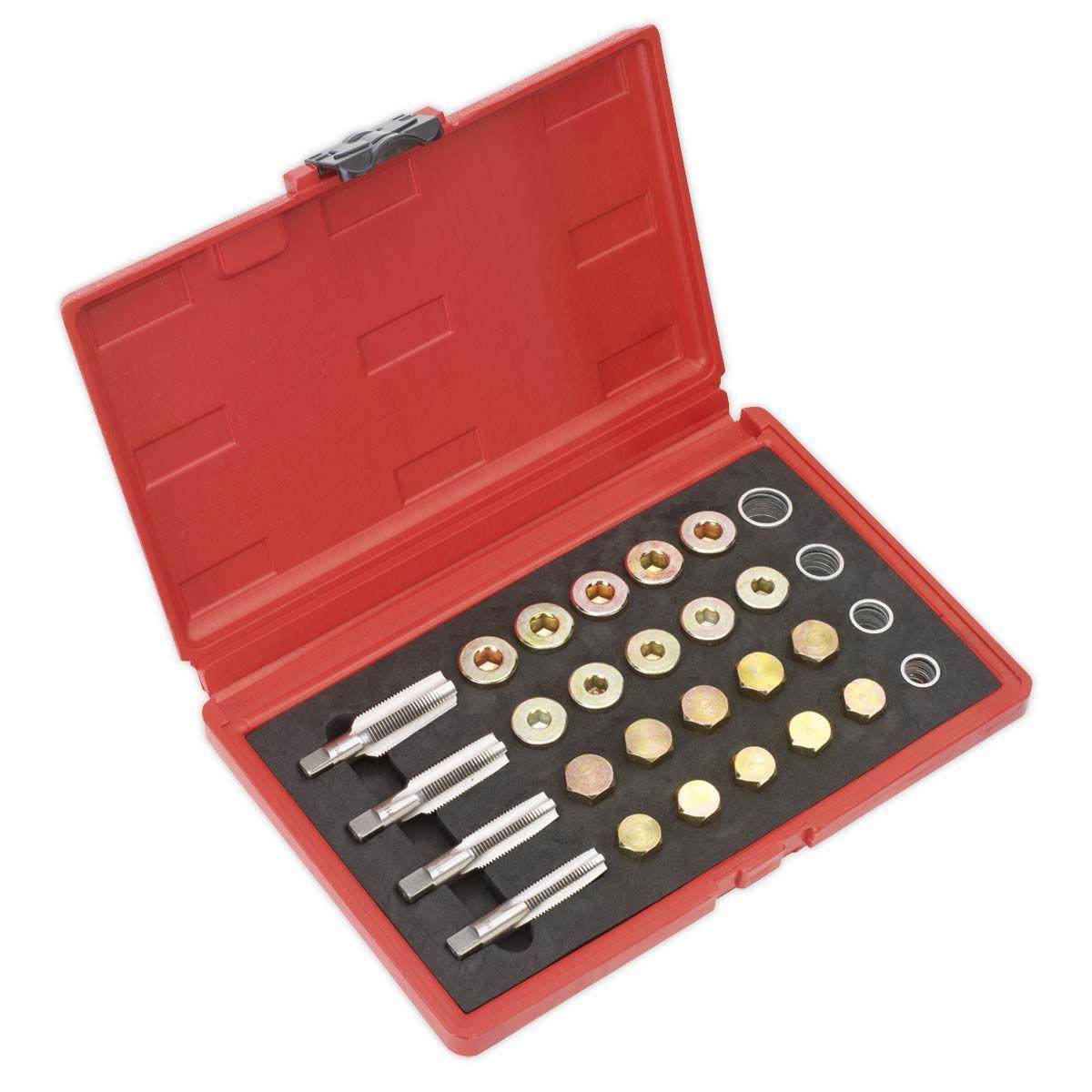 Sealey Drain Plug Thread Repair Set