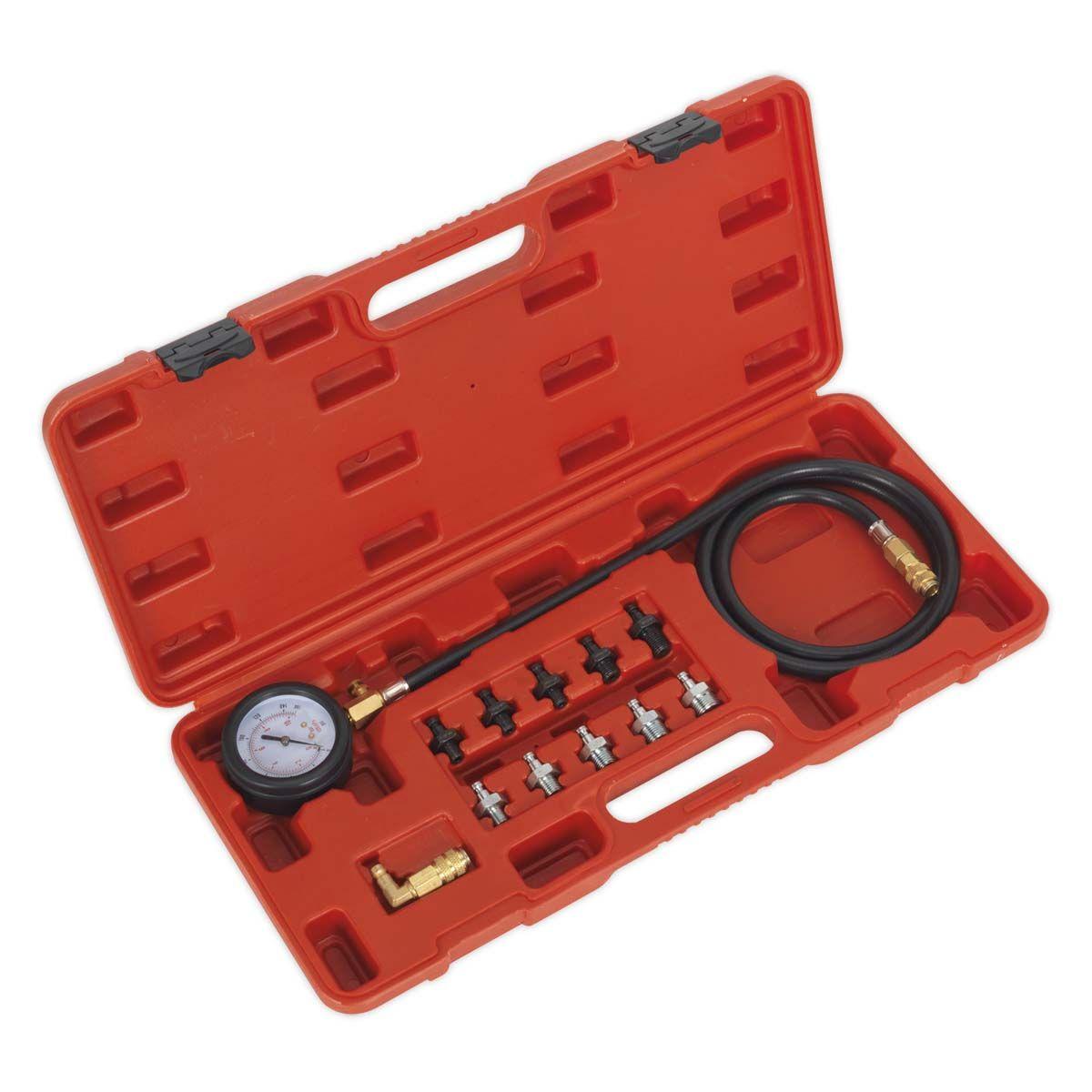 Sealey Oil Pressure Test Kit 12pc