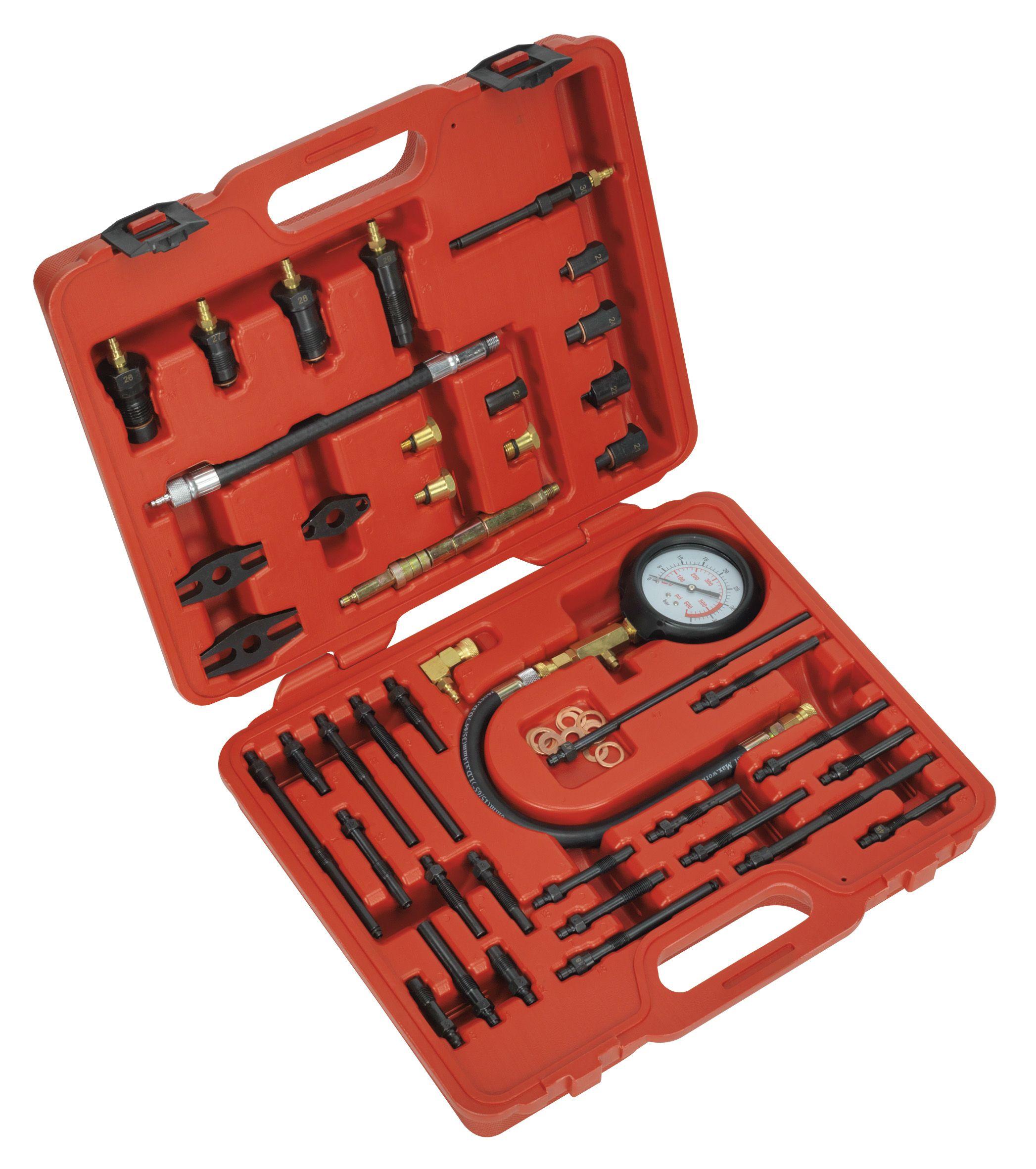 Sealey Petrol & Diesel - Master Compression Test Kit