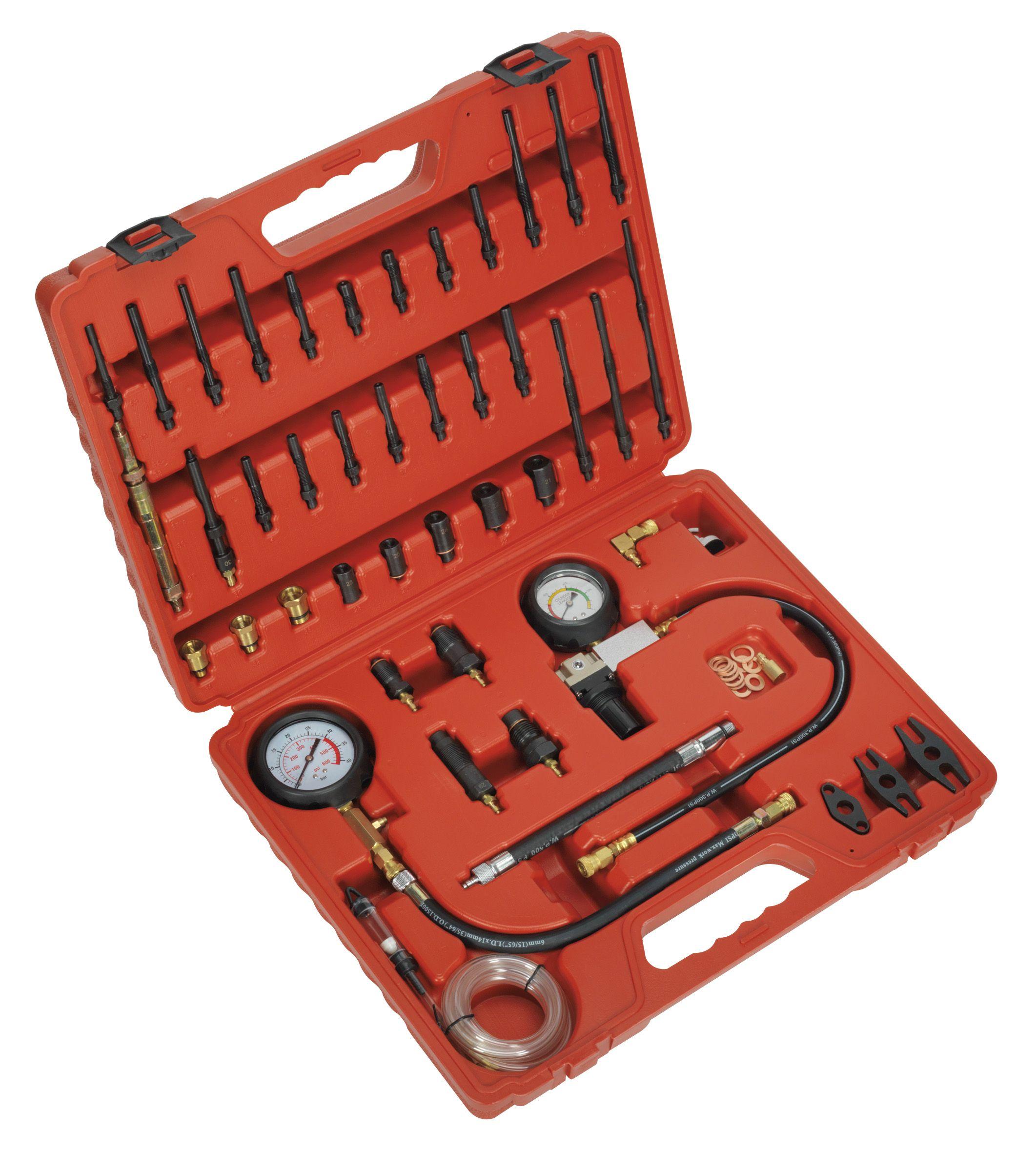 Sealey Diesel & Petrol Compression, Leakage & TDC Kit