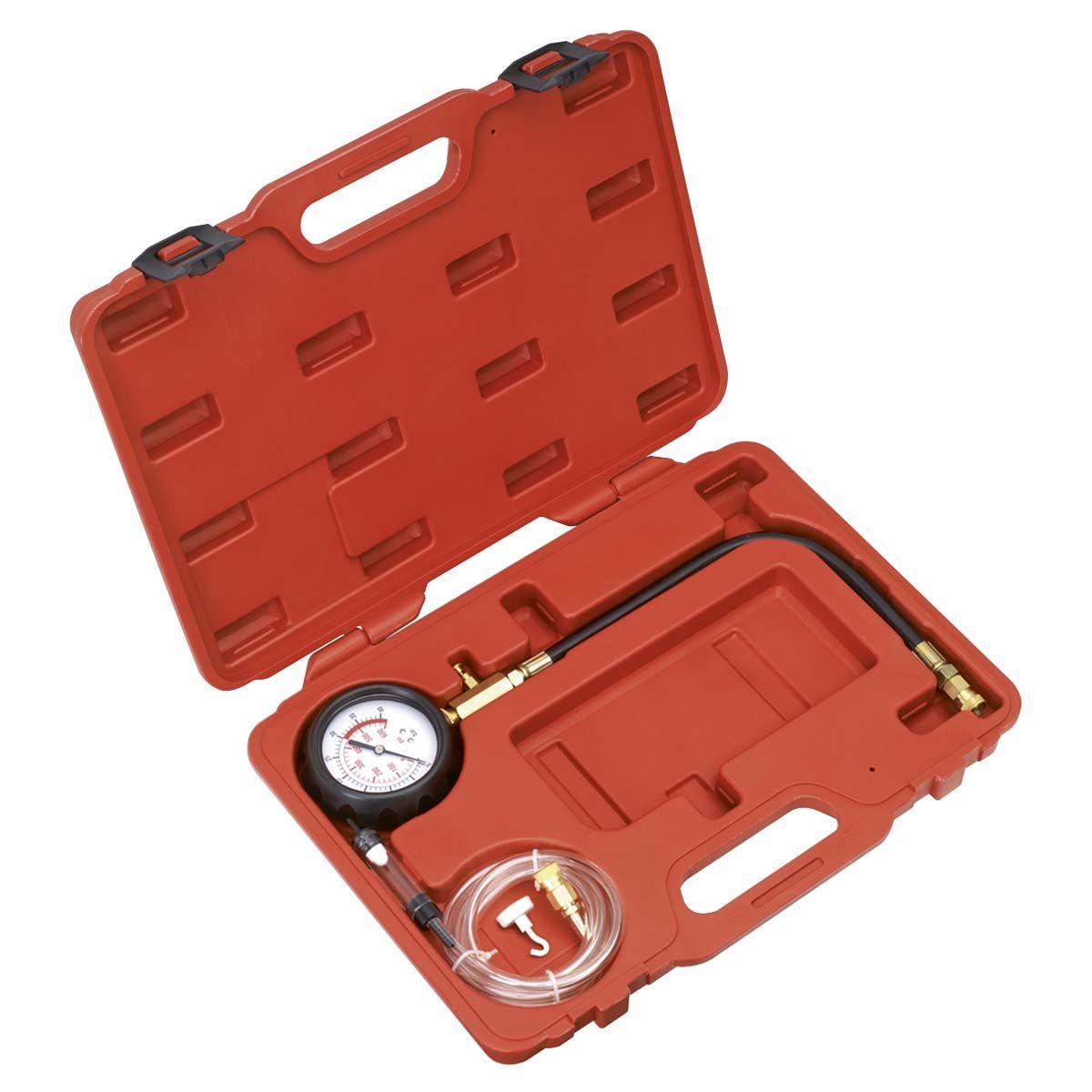 Sealey Diesel Compression Gauge, Hose & TDC Base Kit