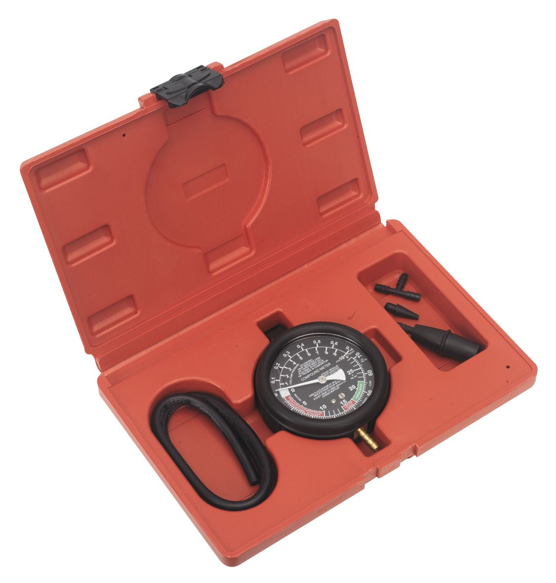 Sealey Vacuum & Fuel Pump Pressure Test Gauge Set