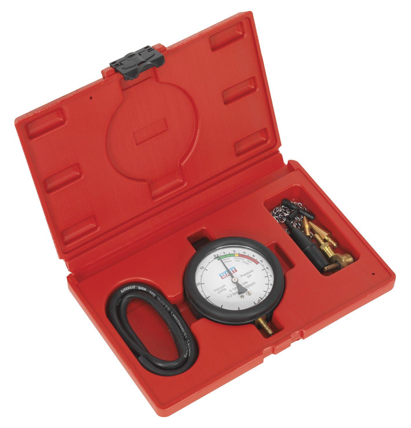 Sealey Catalytic Converter Back Pressure Test Kit