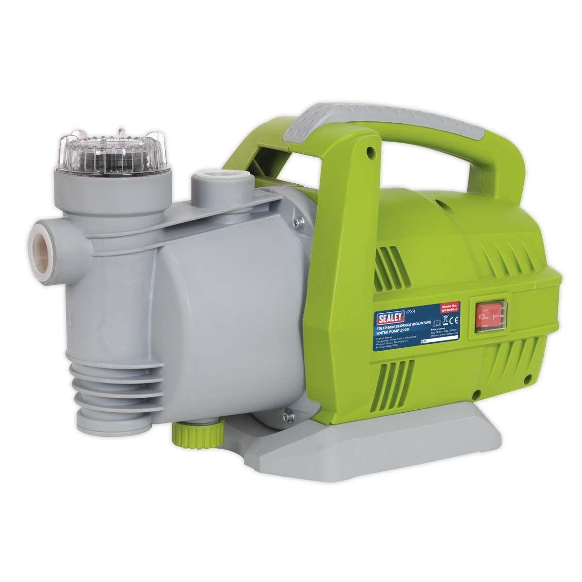 Sealey Surface Mounting Water Pump 50L/min 230V
