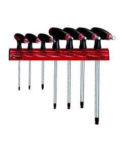 Teng Tools 7 Piece AF T Handle Hex Key Rack