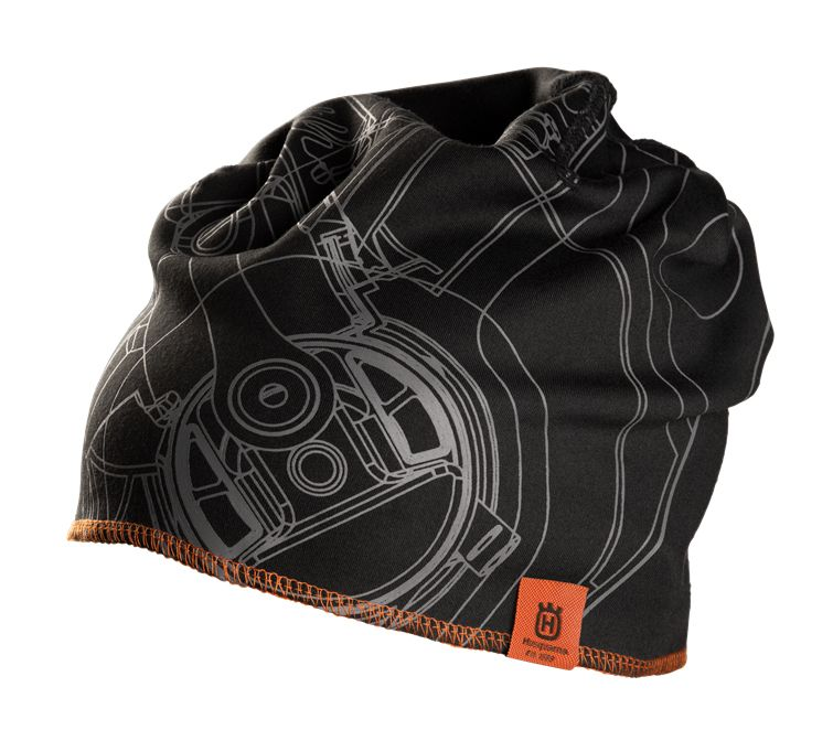 Husqvarna Xplorer Beanie Hat Pioneer Saw Black