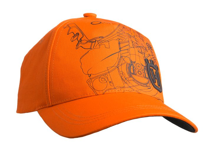 Husqvarna Xplorer Cap Pioneer Saw Orange