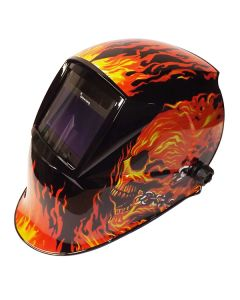 Parweld XR938H Large View Light Reactive Helmet - Flame