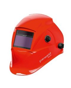 Parweld XR938H Large View Light Reactive Helmet - Red