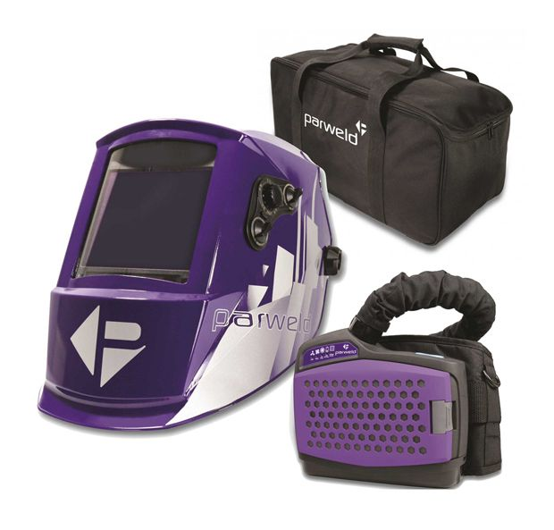 Parweld XR940A PAPR Air Fed Welding Mask