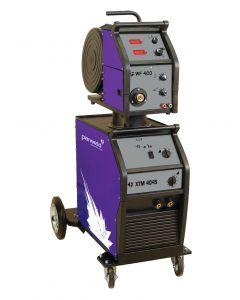 Parweld XTM403S-P1 XTM 403S 350A MIG Welder 400V With MIG Torch & Regulator