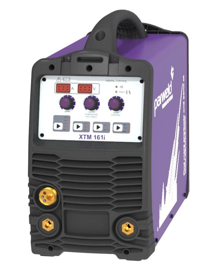 Parweld XTM161I-P1 XTM 161I 160A MIG Inverter 230V With MIG Torch & Regulator