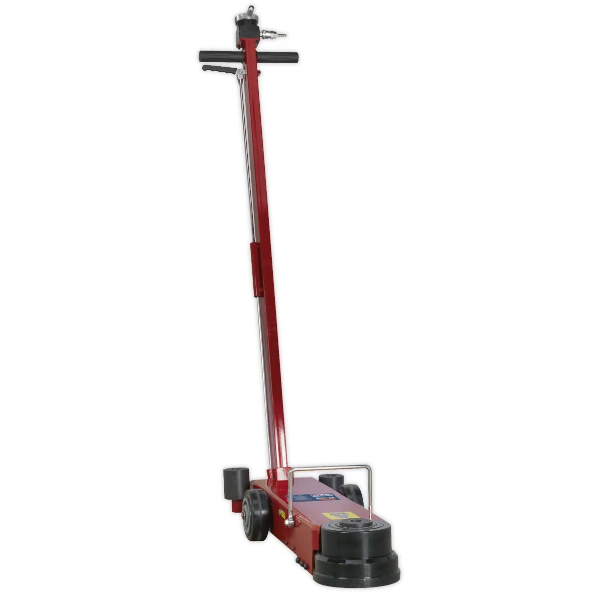 Sealey Air Operated Jack 10-40tonne Telescopic - Long Reach/Low Entry