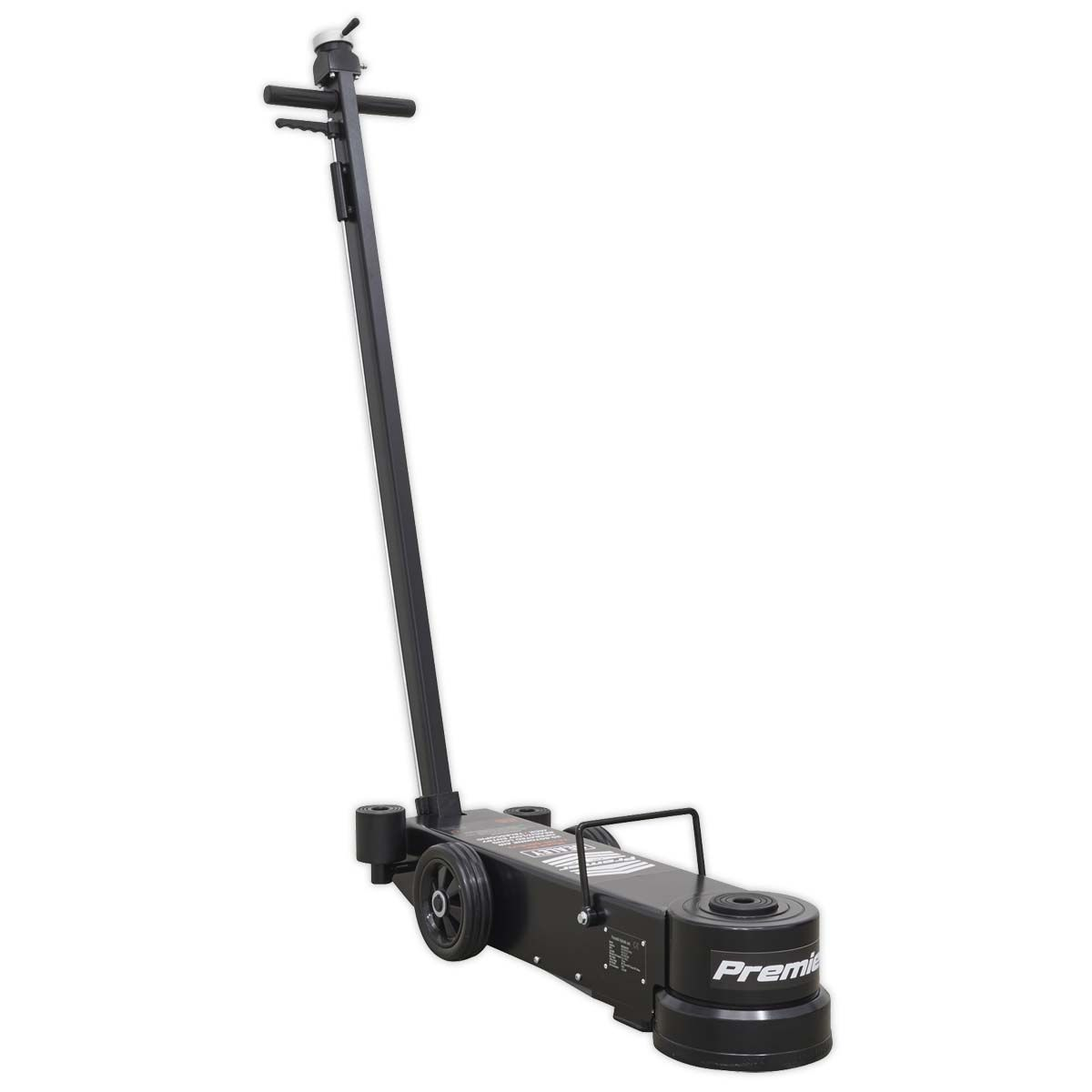 Sealey Air Operated Jack 20-60tonne Telescopic - Long Reach/Low Entry