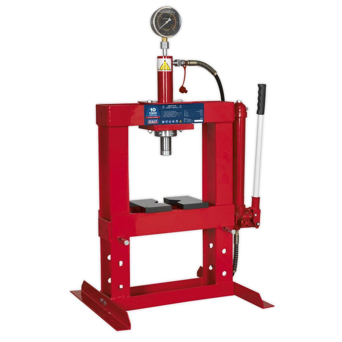 Sealey Hydraulic Press 10tonne Bench Type