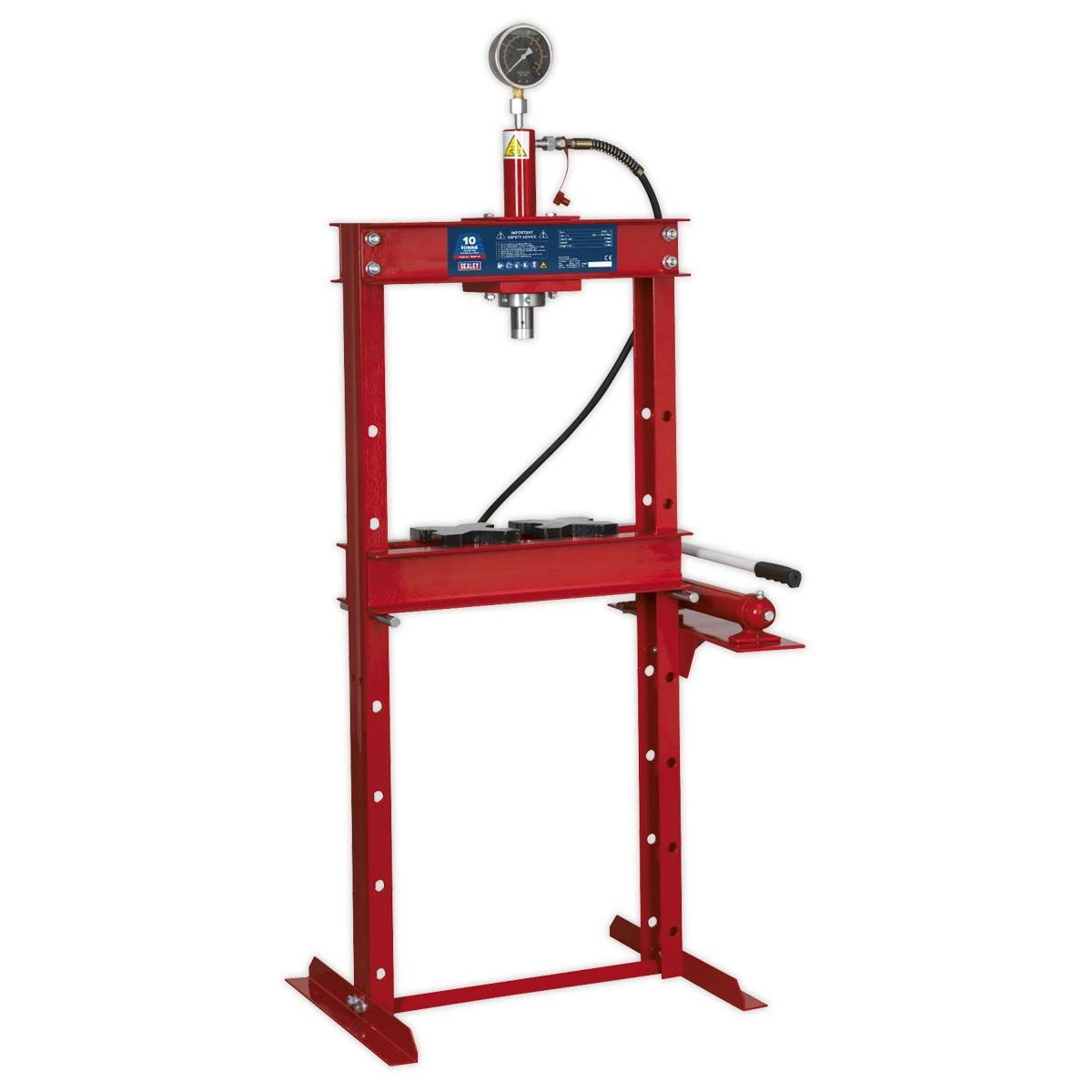Sealey Hydraulic Press 10tonne Floor Type
