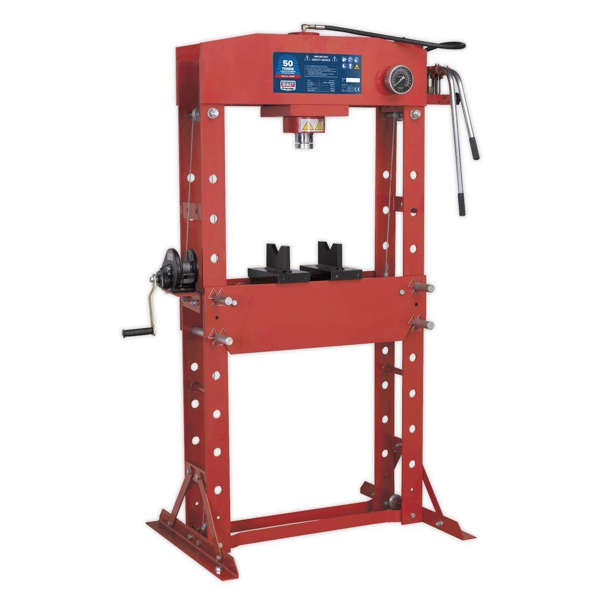 Sealey Hydraulic Press 50tonne Floor Type