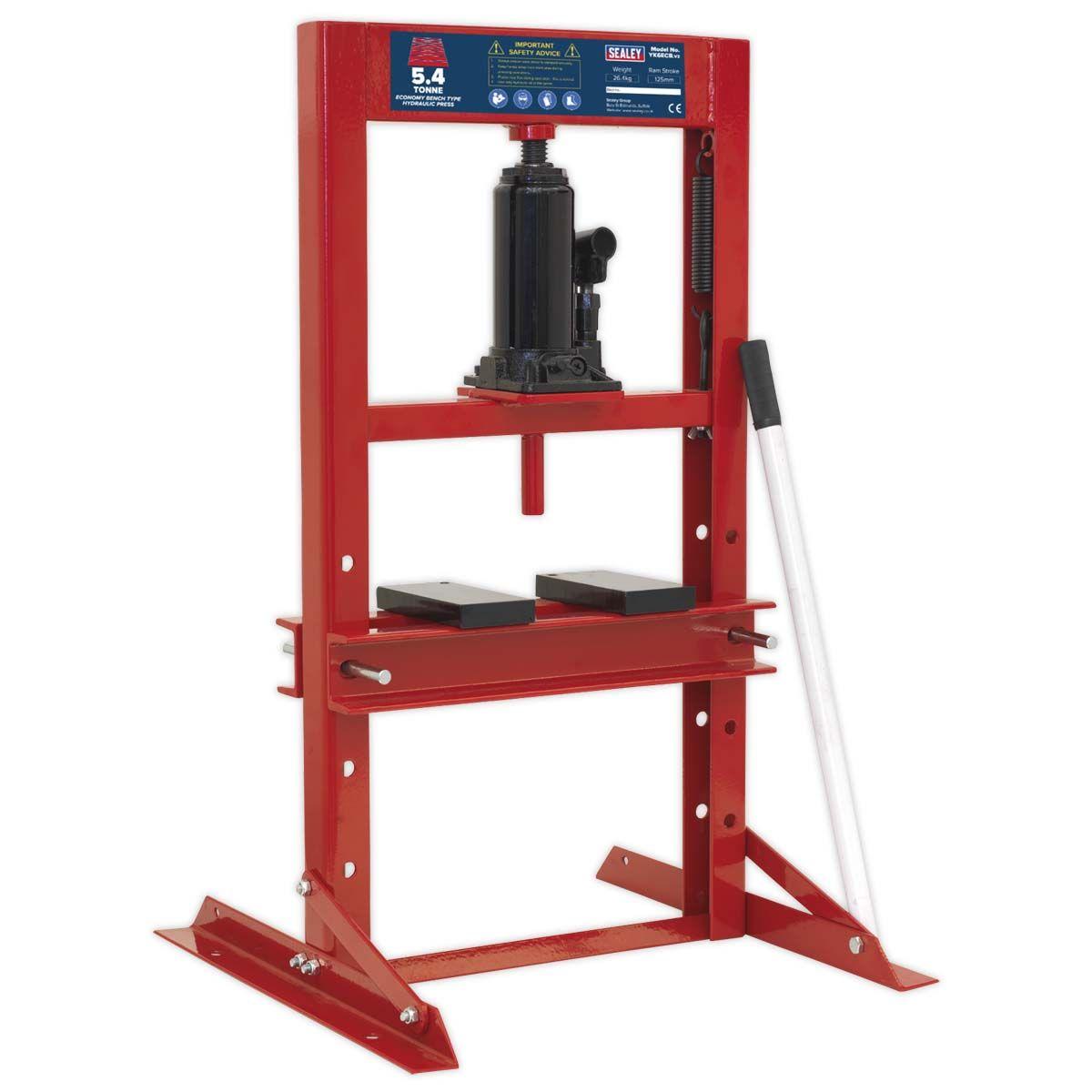 Sealey Hydraulic Press 5.4tonne Economy Bench Type
