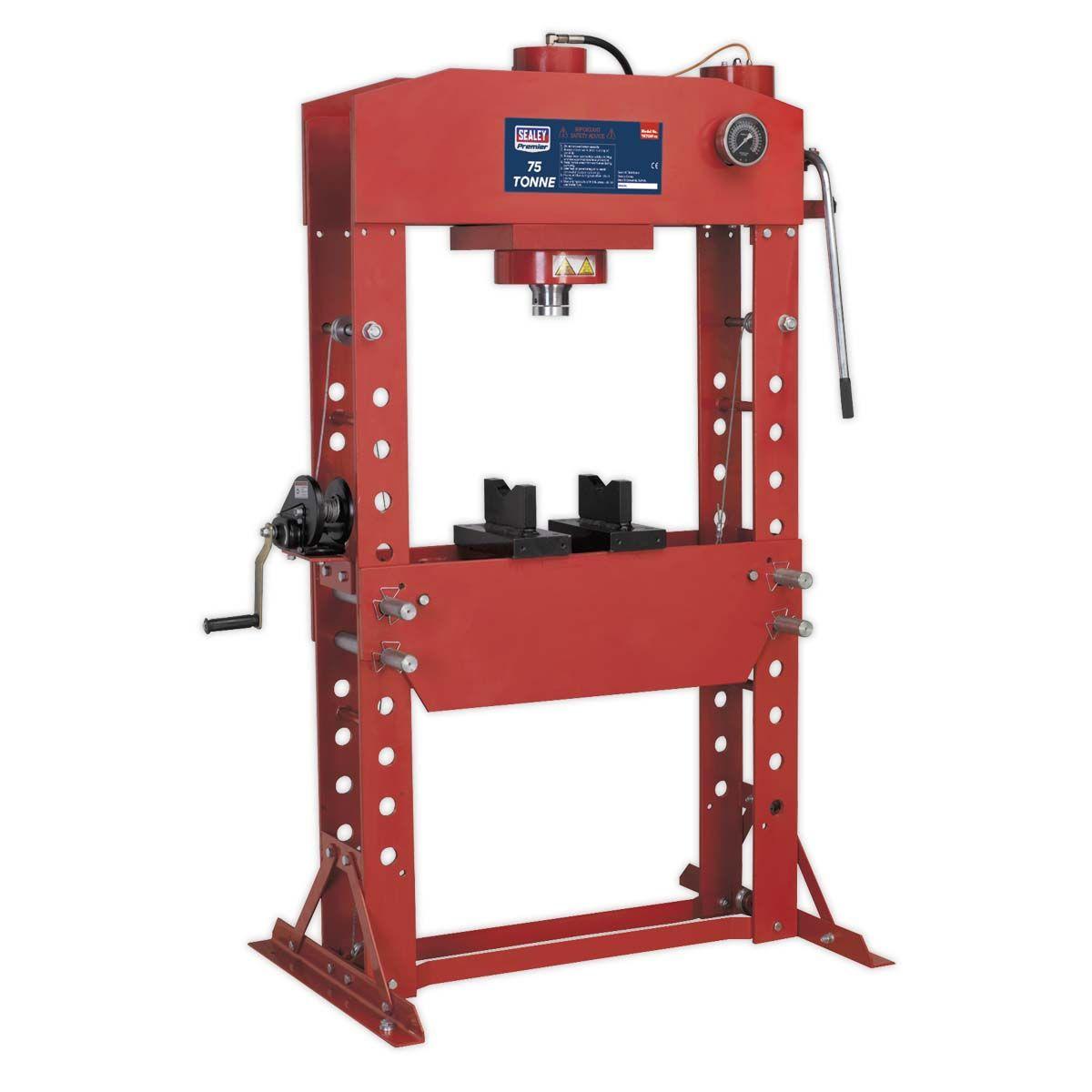 Sealey Hydraulic Press 75tonne Floor Type