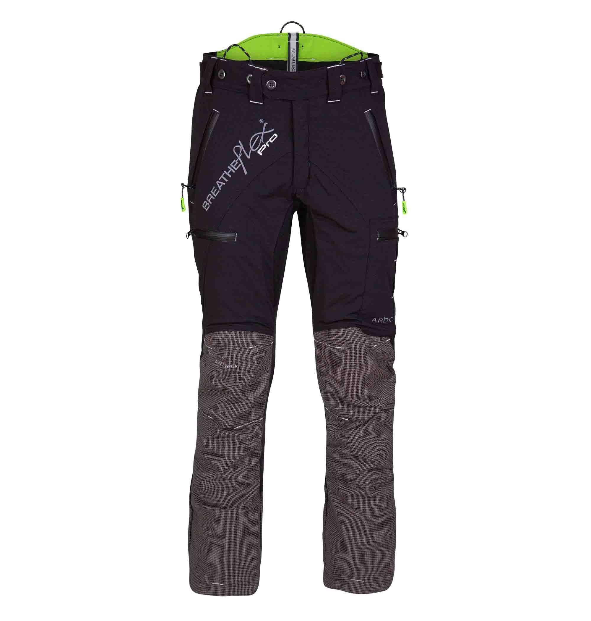 Arbortec AT4070 BreatheFlex Chain Saw Trousers Type C Class 1 Black