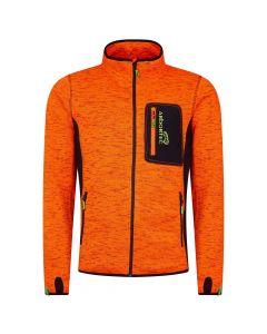 Arbortec AT4900 Kudu Plus Melange Zip Sweater Jacket Orange