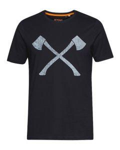 Stihl Timbersports Axe T-Shirt Black