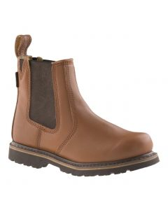 Buckler B1100 Buckflex Goodyear Welted Non-Safety Dealer Boots Tan