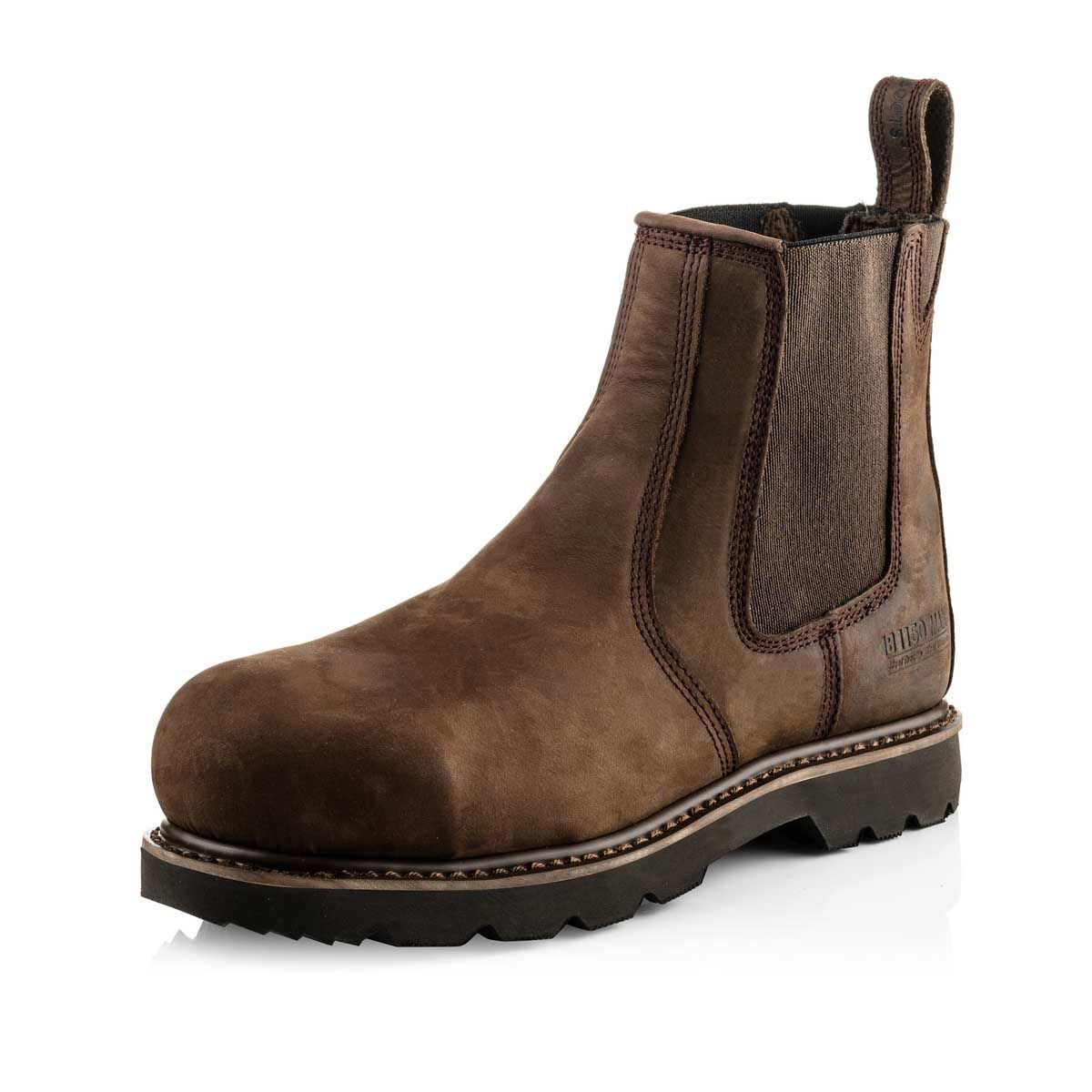Buckler B1150SM MAX Buckflex Goodyear Welted Full Safety Dealer Boots Brown