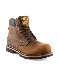 Buckler B425SM Goodyear Welted Full Safety Lace Boots Brown