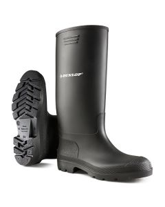 Dunlop Pricemastor Non-Safety Wellington Boots Black