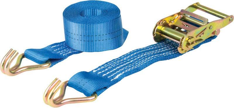 Warrior 2 Tonne Ratchet Straps With Claw Hooks