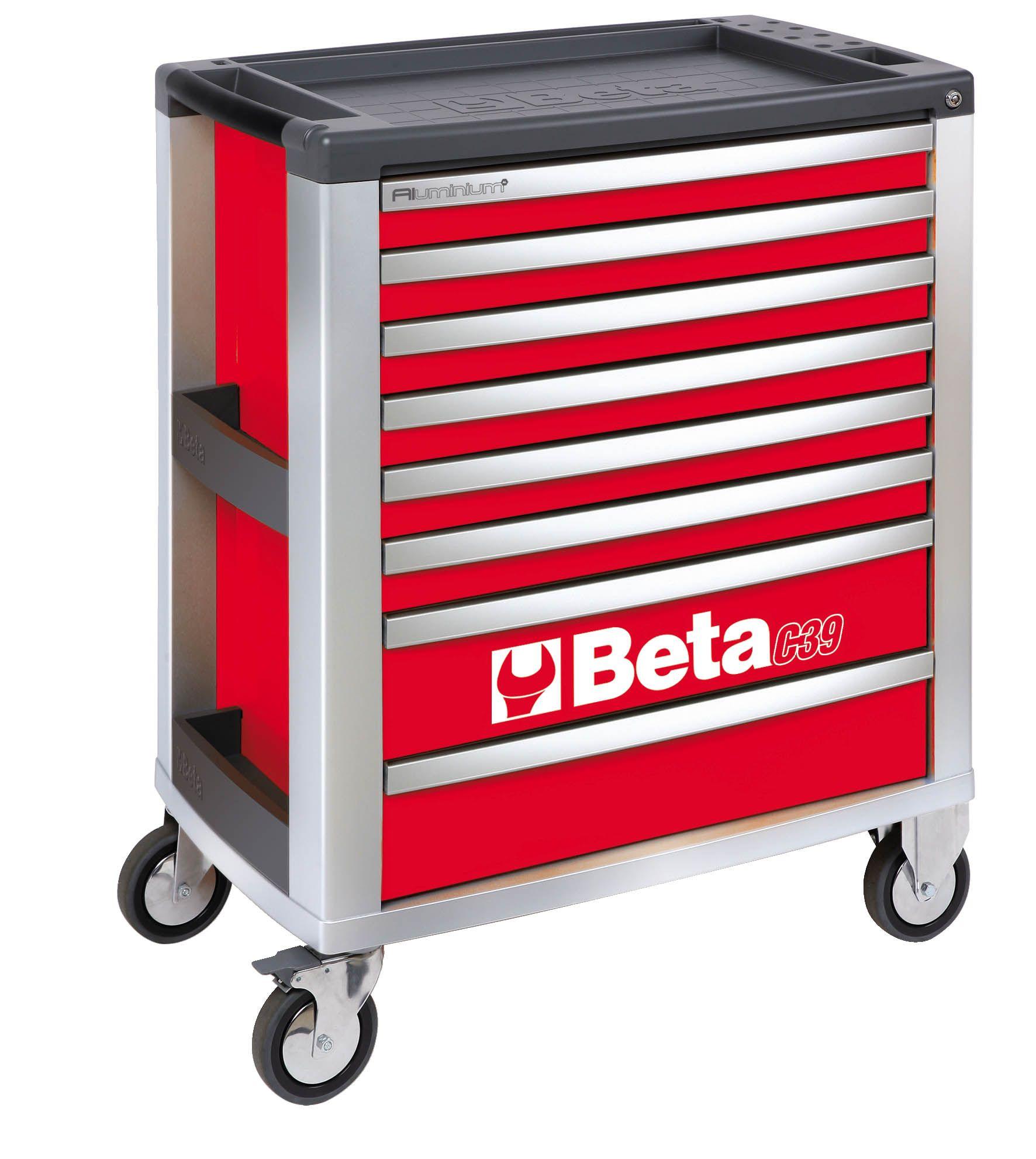 Beta Tools C39 8 Drawer Mobile Roller Cabinet Tool Box