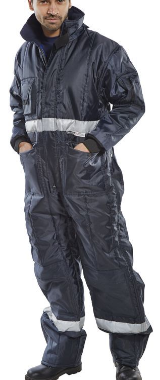 Click Coldstar Freezer Coverall Navy