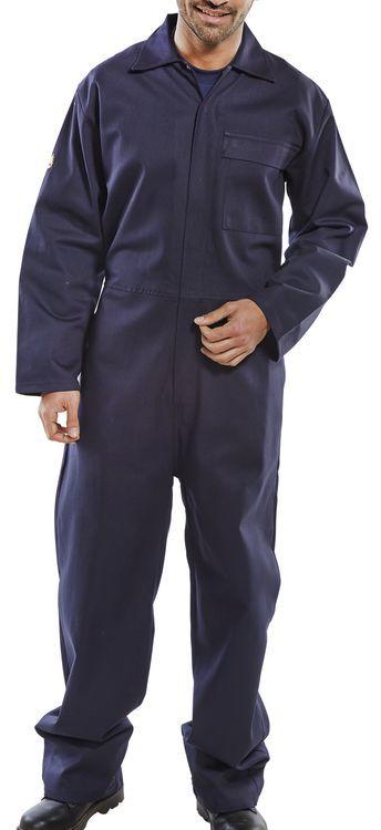 Click Fire Retardant Boiler Suit Navy
