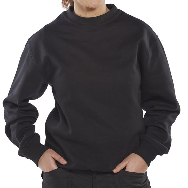 Click Workwear Sweater Jumper Black