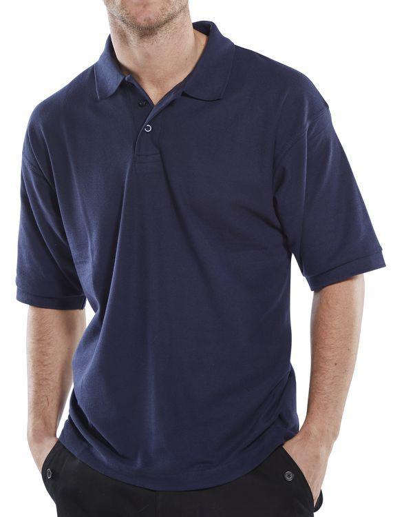 Click Workwear Polo Shirt Navy