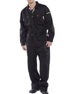 Click Premium Coverall Overalls Black