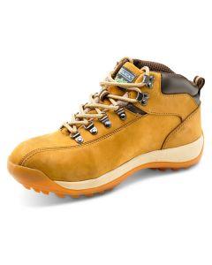 Click Traders SBP Full Safety Steel Toe Cap Chukka Boots Tan